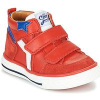 Chaussures Garçon Baskets montantes GBB FLAVIO Rouge