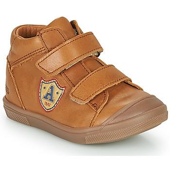 Chaussures Garçon Baskets montantes GBB LAUREL Marron