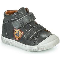 Chaussures Garçon Baskets montantes GBB LAUREL Gris