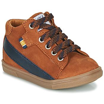 Chaussures Garçon Baskets montantes GBB WESTY Marron