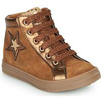 Chaussures Fille Baskets montantes GBB TADEA Marron