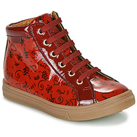 Chaussures Fille Baskets montantes GBB PHILEMA Rouge