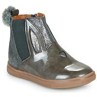 Chaussures Fille Boots GBB GEMMA Noir