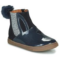 Chaussures Fille Boots GBB GEMMA Bleu