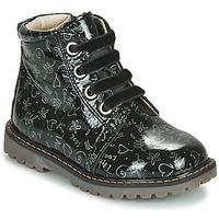Chaussures Fille Baskets montantes GBB NAREA Noir