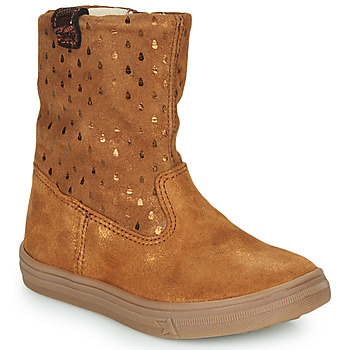 Chaussures Fille Boots GBB KINGA Marron