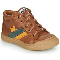 Chaussures Garçon Baskets montantes GBB LEON Marron
