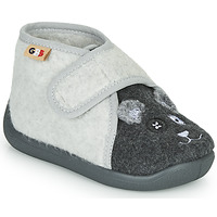 Chaussures Enfant Chaussons GBB APOCHOU Noir