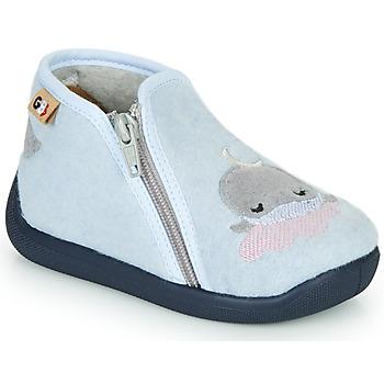 Chaussures Fille Chaussons GBB APOPOTAM Bleu