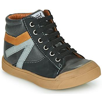 Chaussures Garçon Baskets montantes GBB ARNOLD Gris