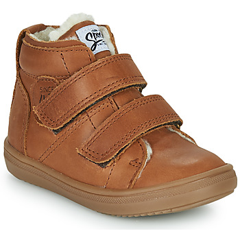 Chaussures Garçon Baskets montantes GBB DIEGGO Marron