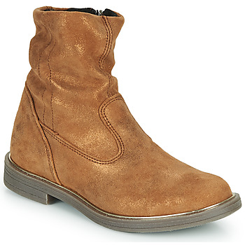 Chaussures Fille Boots GBB MICKY Marron