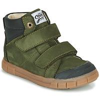 Chaussures Garçon Baskets montantes GBB HENI Vert