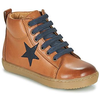 Chaussures Garçon Baskets montantes GBB KANY Marron