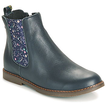 Chaussures Fille Boots GBB ARANA Bleu