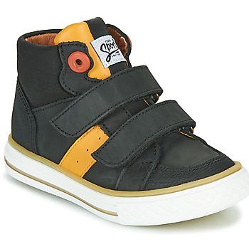 Chaussures Garçon Baskets montantes GBB KIMMY Noir