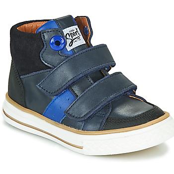 Chaussures Garçon Baskets montantes GBB KIMMY Bleu