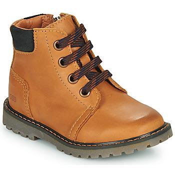 Chaussures Garçon Baskets montantes GBB CORRY Jaune
