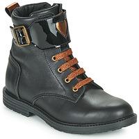 Chaussures Fille Baskets montantes GBB DOZZY Noir