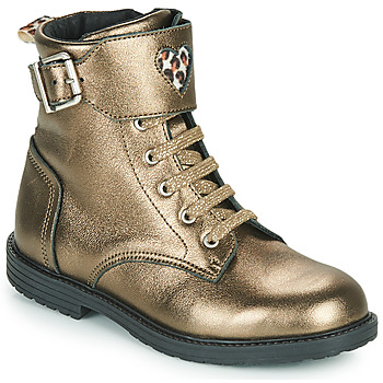 Chaussures Fille Baskets montantes GBB DOZZY Doré