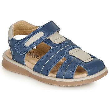 Chaussures Garçon Sandales et Nu-pieds Citrouille et Compagnie MABILOU Bleu