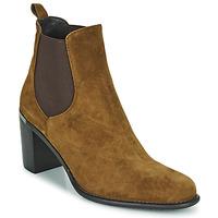 Chaussures Femme Bottines Adige FANNY V1 CHEV VEL NOIX Marron