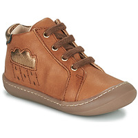Chaussures Fille Baskets montantes GBB APOLOGY Marron