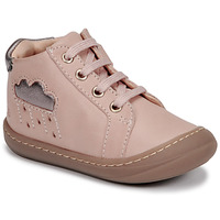 Chaussures Fille Baskets montantes GBB APOLOGY Rose