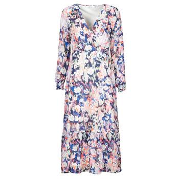 Vêtements Femme Robes longues Only ONLZOE Blanc / Multicolore