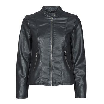 Vêtements Femme Vestes en cuir / synthétiques Only ONLMELISA Noir