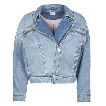 Vêtements Femme Vestes en jean Only ONLJACK Bleu medium