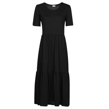 Vêtements Femme Robes longues JDY JDYDALILA FROSTY Noir