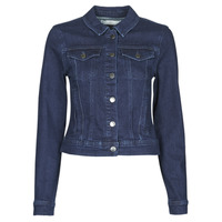 Vêtements Femme Vestes en jean JDY JDYNEWWINNER STR JACKET BOX DNM NOOS Bleu medium