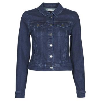 Vêtements Femme Vestes en jean JDY JDYNEWWINNER STR JACKET BOX DNM NOOS Bleu medium