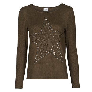 Vêtements Femme Tops / Blouses JDY JDYSARA TONSY L/S STUD TOP Marron