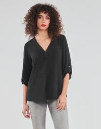 Vêtements Femme Tops / Blouses JDY JDYDIVYA 3/4 TOP WVN NOOS Noir