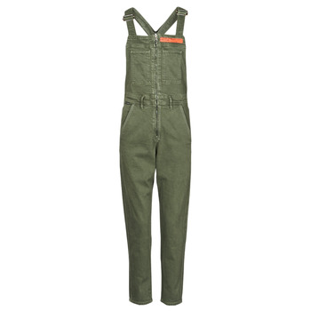 Vêtements Femme Combinaisons / Salopettes G-Star Raw SLIM DUNGAREE WMN Kaki