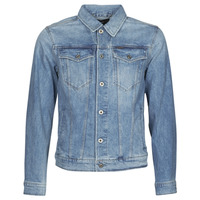 Vêtements Homme Vestes en jean G-Star Raw 3301 SLIM JKT Bleu