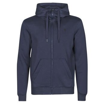 Vêtements Homme Sweats G-Star Raw PREMIUM BASIC HOODED ZIP SWEATER Marine