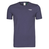 Vêtements Homme T-shirts manches courtes G-Star Raw SLIM BASE R T S/S Marine