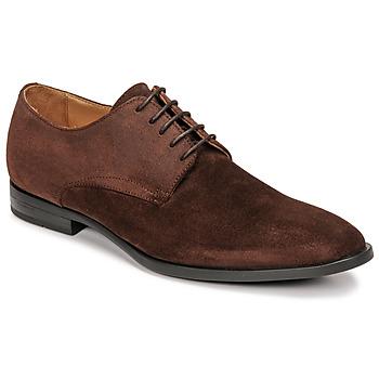 Chaussures Garçon Derbies & Richelieu Pellet ALIBI Marron