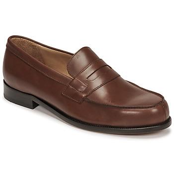 Chaussures Homme Mocassins Pellet COLBERT Marron