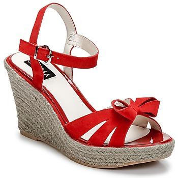Chaussures Femme Sandales et Nu-pieds C.Petula SUMMER Rouge