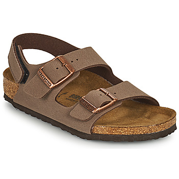 Chaussures Garçon Sandales et Nu-pieds Birkenstock MILANO HL Marron