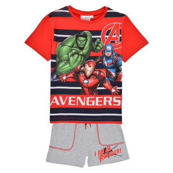 Vêtements Garçon Ensembles enfant TEAM HEROES  AVENGERS SET Multicolore