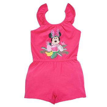 Vêtements Fille Combinaisons / Salopettes TEAM HEROES  MINNIE JUMPSUIT Rose