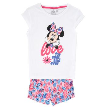 Vêtements Fille Ensembles enfant TEAM HEROES  MINNIE SET Blanc