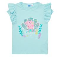 Vêtements Fille T-shirts manches courtes TEAM HEROES  PEPPA PIG TEE Bleu