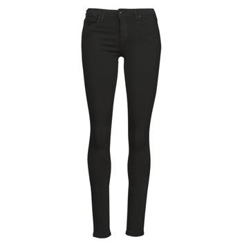Vêtements Femme Jeans slim Only ONLCARMEN Noir