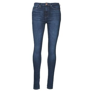 Vêtements Femme Jeans slim Only ONLPAOLA Bleu foncé